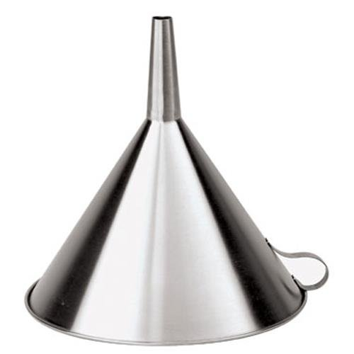 Paderno World Cuisine Stainless Steel Funnel - 7 7/8-inch Dia