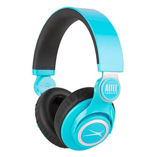 Altec Lansing Mzx756 Blue Kickback Headphones  Blue
