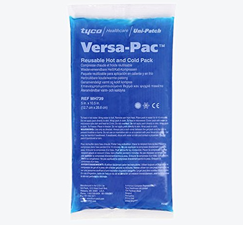 """Uni-Patch Versa-Pac Reusable Hot and Cold Gel Pack 5"""" X 10-1/2"""" each"""