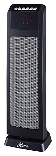 Hunter HPQ15C-EA 1500W Digital Ceramic Tower