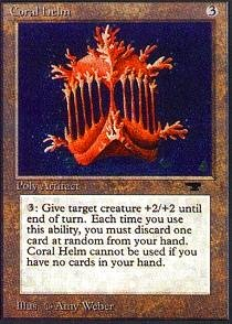 Magic: the Gathering - Coral Helm - Antiquities
