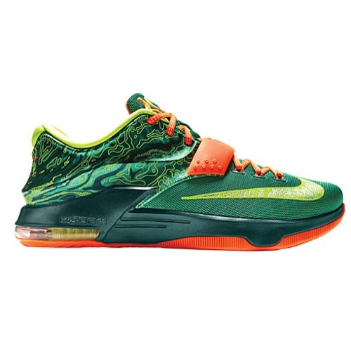 Nike KD VII 7 Weatherman Men Basketball Shoes New Green Low
