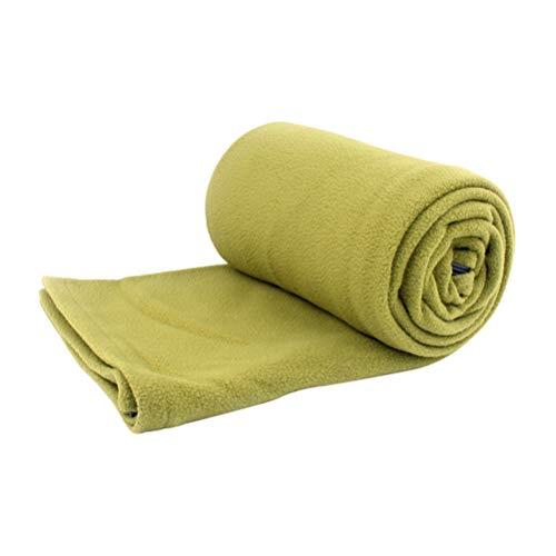 Zhhlinyuan Camping Blanket Sleeping Bag Liner Fleece Portable Quilt for Women Men