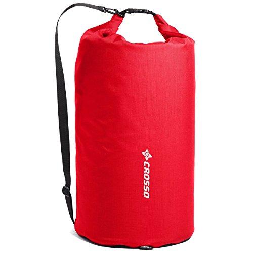 CROSSO EXPERT BAG CO1005 50 L Fahrradtasche Gepäckträgertasche Gepäcktasche rot