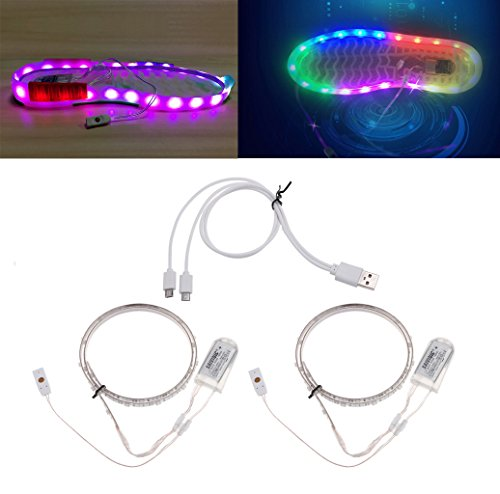 Put Led Lights Shoes in US - 6