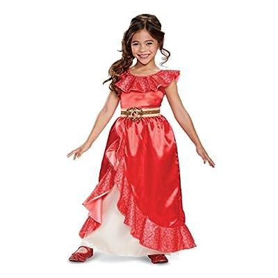 Disney Elena of Avalor Adventure Deluxe Girls' Costume: Toys & Games