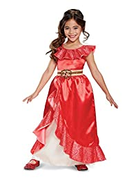 Disguise Costumes Elena Adventure Outfit Deluxe Costume, Red, Small (4-6X)
