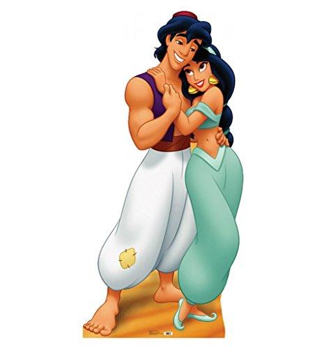 Aladdin and Jasmine - Disney's Aladdin - Advanced Graphics Life Size Cardboard Standup
