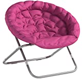 Urban Shop, Pink Oversized Saucer Chair