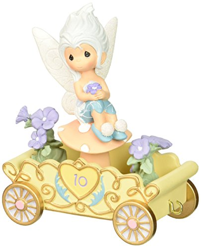 Precious Moments, Disney Showcase Collection,  A Reason To Smile, Disney Birthday Parade, Age 10, Resin Figurine, 133404 ()