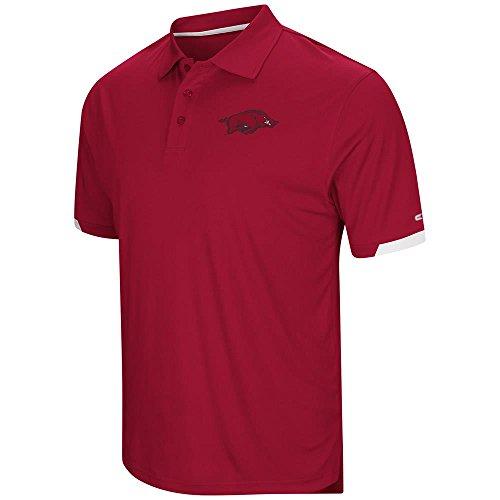 (Mens Arkansas Razorbacks Polo Shirt -)