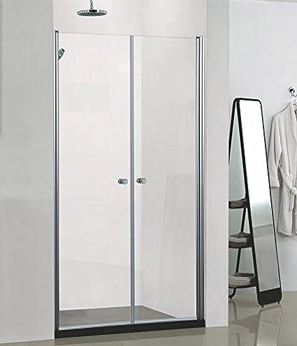 nichos Puerta | Mampara | con al nano-recubrimiento, 1000 x 1950 mm: Amazon.es: Hogar