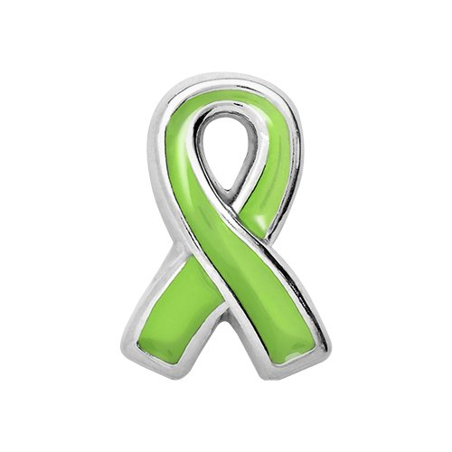Minnesota Twins Charm (TK Lockets ~ LYMPHOMA AWARENESS RIBBON CHARM)