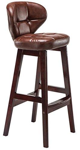 My Vision 木製 インテリア スツール カウンターチェアー 椅子 おしゃれ (Mサイズ ブラウン) MV-CAFSTOOL-M-BR B072HG7VSG Mサイズ|ブラウン ブラウン Mサイズ