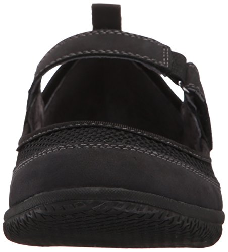 Softwalk Vrouwen Hadley Mary Jane Flat Black