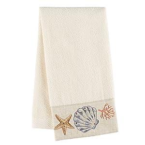 Avanti Sea Treasure Hand Towel, Ivory