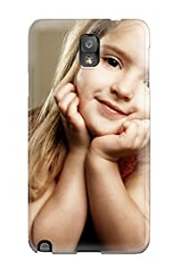 Special Design Back Pretty Little Girl Phone Case Cover For Galaxy Note 3