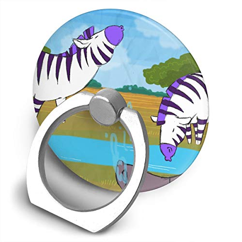 Universal Phone Ring Bracket Holder Sesame Zebras Finger Grip Stand Holder Ring Car Mount Phone Ring Grip Smartphone Ring Stent Tablet