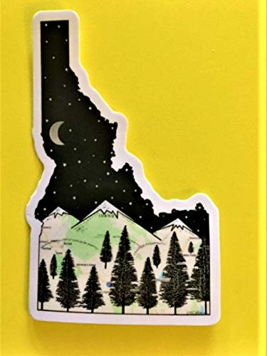 Idaho Sticker, Idaho Map Sticker, Idaho, used for sale  Delivered anywhere in USA