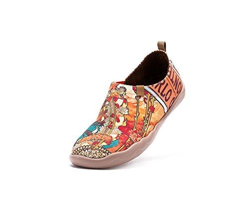 Scarpa Da Passeggio In Tela Con Stampa Monachella Uin Donna Multicolore