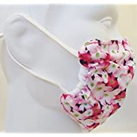 Pink Dogwood Flowers Dust and Allergy Mask 2