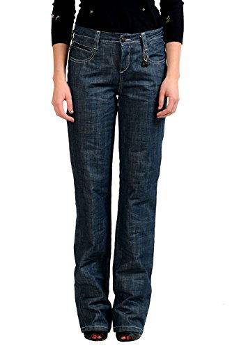 C'N'C Costume National Women's Wide Legs Jeans US 40 IT (Cnc Costume National Jeans)