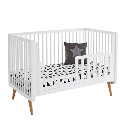 Daybed Deluxe Toddler (Svitlife Roscoe 3-in-1 Toddler Bed and Day Bed Conversion Kit Bed Toddler Day Dream Me Deluxe Black Storage Espresso Natural White Drawer)