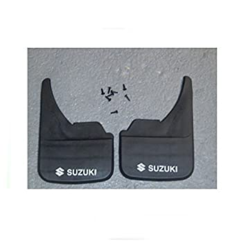 2 x Universal Mudflaps /& Clamps ALL Car Makes n Models