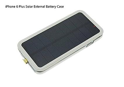 half off ff58b fb7e5 Amazon.com: Cool8 iPhone 6 Plus Solar Battery Case,External ...