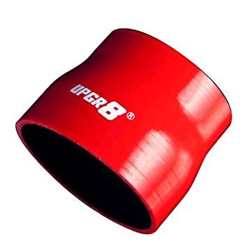 to 3.75 Upgr8 Universal 4-Ply High Performance Straight Reducer Coupler Silicone Hose , Black 76MM 95MM 3.0