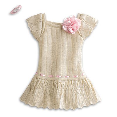 American Girl My AG Sweet Spring Dress + (Doll Outfit Crochet Pattern)