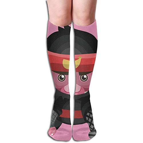 (Women Socks Mid-Calf Monkey As A Ninja Winter Warmth Great For Thanksgiving)