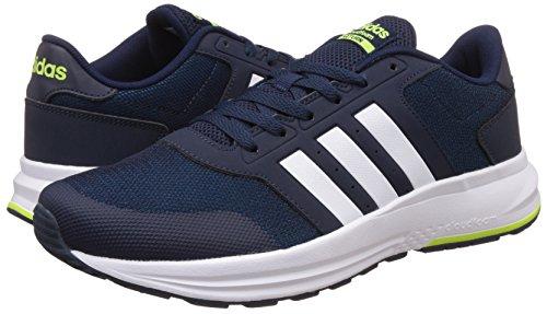 adidas Cloudfoam Saturn, Chaussures de Tennis Homme, Bleu (Maruni/Ftwbla/Amasol), 42 EU