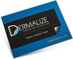 dermalize Pro hojas tattoo Aftercare coverup película - 5 unidades ...