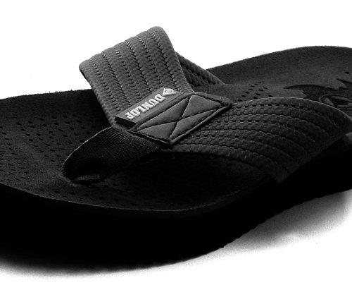 Dunlop EVA Toepost Black Mens Beach Flip-Flops Size UK 7 fHGxXPaPEY