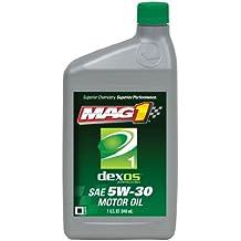 Mag 1 62891 Dexos1 SAE 5W-30 Motor Oil - 1 Quart Bottle