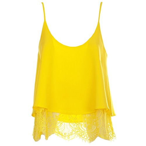 GOA GOA - Camiseta sin mangas - para mujer amarillo