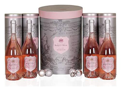 Estuche navidad 4 Botellas Vino Rosado de la Tierra de Castilla y León Viñas Viejas HEREDEROS