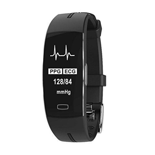 - Yeefant Bluetooth Wristband Blood Pressure Watch Oxygen Heart Rate Sleep Monitor Smart Watch,8.9x0.9x0.6 Inch,Adjustable Length 4.7-7.9 Inch, Life Time 7 Days and Standby 15 Days (Black B)
