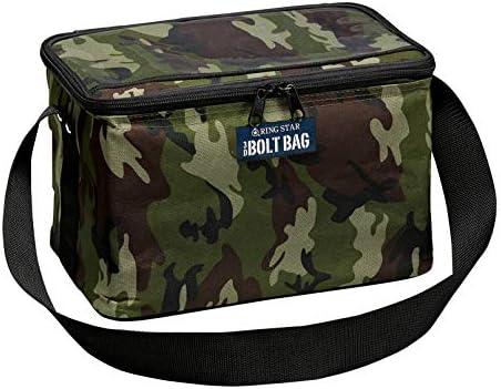 リングスター(RING STAR) 収納バッグ スリーディーボルトバッグ 縦20×横30×高さ20cm BB-300 四方補強付き カモグリーン