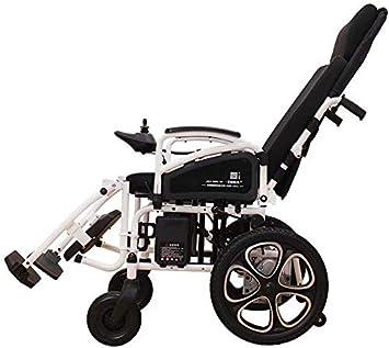 Coches de sillas de ruedas eléctricas, cubierta de coche eléctrico para adultos, adecuado para personas con movilidad reducida, apto para minusválidos/ancianos,Black