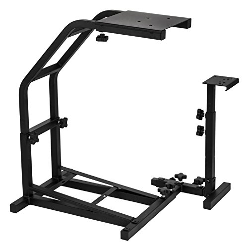 41gMIsgeGGL - VEVOR-Racing-Steering-Wheel-Stand-Pro-Shifter-Mount-Logitech-G27-G25-E-G29-Racing-Wheel-Stand-with-V2-Support-Game-Support-Wheel-and-Pedal-Mount-Not-Included