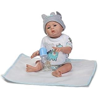 Amazon.com: Evursua Anatomically Correct Reborn Twins Dolls Real ...