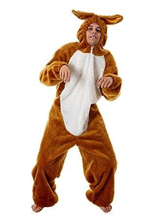 Oster conejito conejo traje del carnaval de color marrón ...