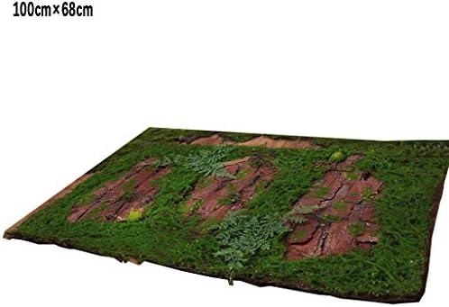 合成人工芝カーペット、壁用の苔マット背景壁装飾マイクロランドスケープデザイン (Size : 5pack)