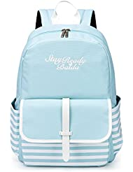 Teen Backpacks for School Casual Daypack Lightweight Waterproof Bookbag for Girls