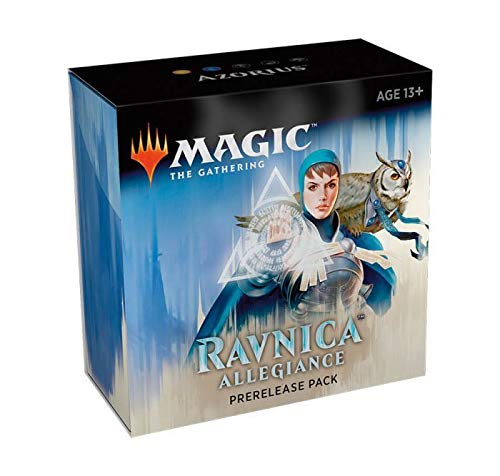Magic The Gathering: Ravnica Allegiance Prerelease Pack Azorius (Pre-Pelease Promo + 6 Boosters + d20 Spindown Counter) - Ravnica Mtg Magic