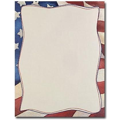 amazon com patriotic american flag border 4th of july computer