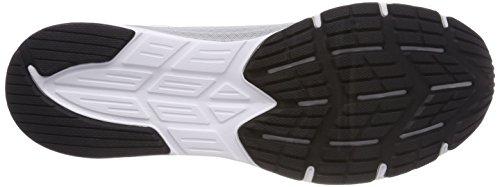 Asics Chaussures blanc Noir Homme De Pour Bianco Argent 0193 Course Amplica rX71rYz