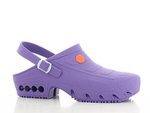 Safety Jogger Oxypas, Oxyclog, Unisex-Erwachsene Arbeitsschuhe, Farbe: LBL, Größe: 43/44 Lilac